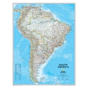 National Geographic Maps South America Wall Map (NGMRE00620150)