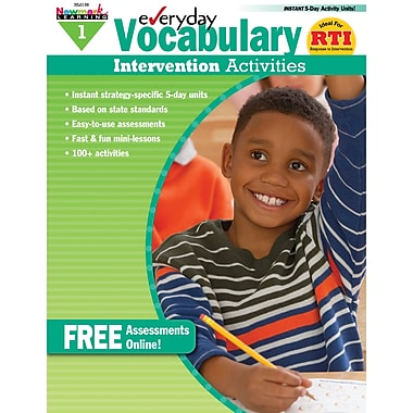Newmark Learning Everyday Vocabulary Intervention Activity Book, Grade 1 (NL-0158)