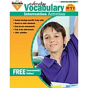 """Newmark Learning """"Everyday Vocabulary Intervention"""" Activity Book, Grade 3 (NL-0160)"""