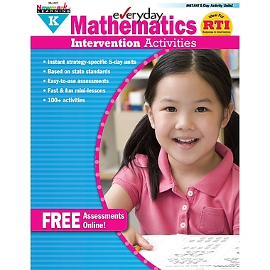Newmark Learning Mathematics Intervention Activities Book, Grade K (NL-1007)