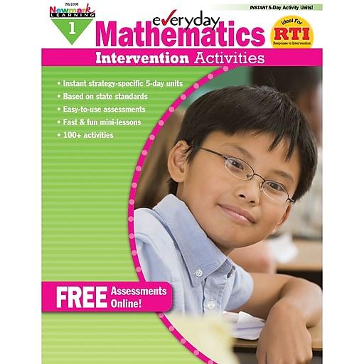 Newmark Learning Mathematics Intervention Activities Book, Grade 1