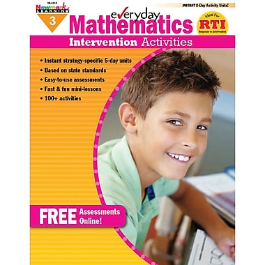 Newmark Learning Mathematics Intervention Activities Book, Grade 3 (NL-1010)