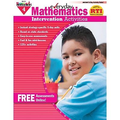 Newmark Learning Mathematics Intervention Activities Book, Grade 4