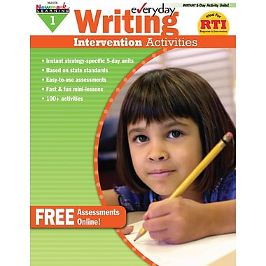 Newmark Learning Everyday Writing Intervention Activity Book, Grade 1 (NL-1014)