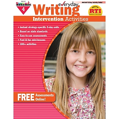 Newmark Learning Everyday Writing Intervention Activity Book, Grade 4 (NL-1017)