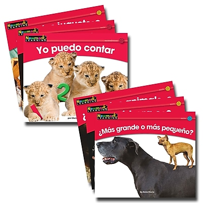 Newmark Learning En Español Rising Readers Math Volume 1 Book, 12/Set
