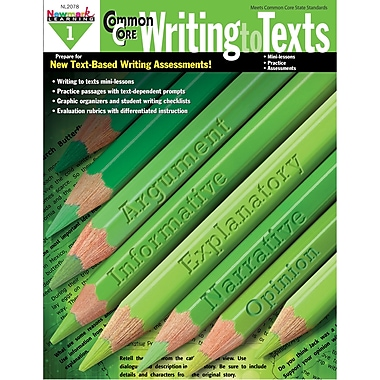 Newmark Learning Common Core Practice Writing to Texts Book, Grade 1 (NL-2078)