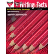 Newmark Learning Common Core Practice Writing to Texts Book, Grade 4
