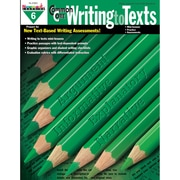 Newmark Learning Common Core Practice Writing to Texts Book, Grade 6