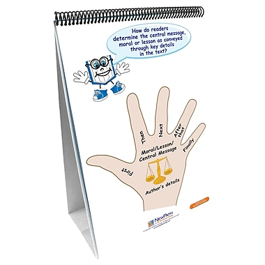 New Path Learning® ELA Common Core Strategies Flip Chart Set, Grade 3