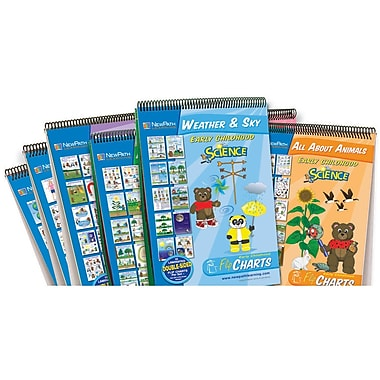 New Path Learning Science Readiness Flip Chart Set, Early Childhood (NP-340035)