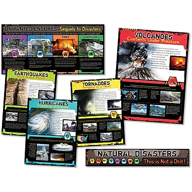 North Star Teacher Resources Bulletin Board Set, Natural Disasters