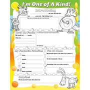 "North Star Teacher Resources 17"" x 22"" ""I'm One Of A Kind"" Fill Me In Poster"