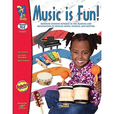 On The Mark Press Music Is Fun Book, Grade PreK-K