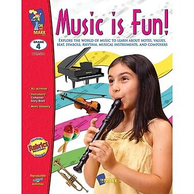On The Mark Press Music Is Fun Book, Grade 4