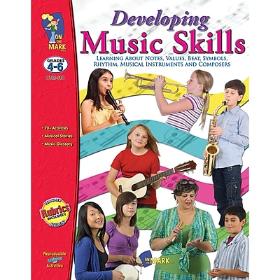 On The Mark Press Developing Music Skills Book, Grades 4-6