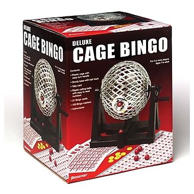 PressmanMD – Jeu de bingo avec cage de luxe
