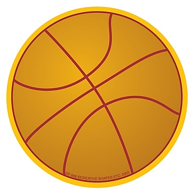 Creative Shapes™ Basketball Mini Notepad 3