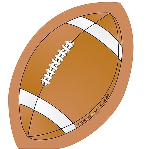 """Creative Shapes™ 3"""" x 3"""" Mini Notepad, Football"""