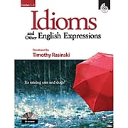 Shell Education Idioms and Other English Expressions Book, Grade 1 - 3