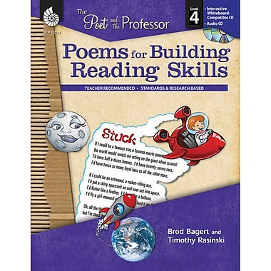 Shell Education The Poet and the Professor Poems for Building Reading Skills Book, Grade 4