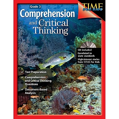 Shell Education Comprehension and Critical Thinking Book, Grade 3