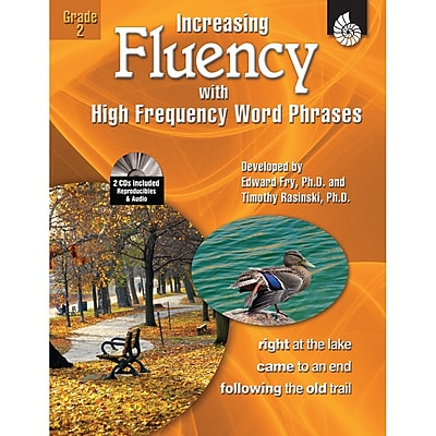 Shell Education Increasing Fluency With High Frequency Word Phrases Book, Grade 2
