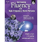Shell Education Increasing Fluency With High Frequency Word Phrases Book, Grade 3