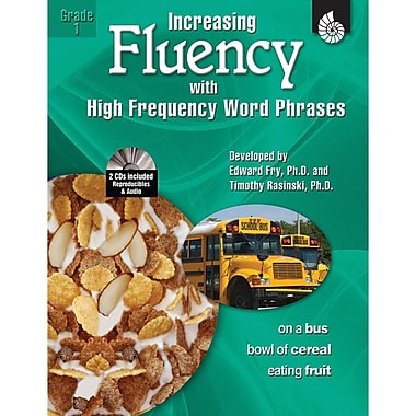 Shell Education Increasing Fluency With High Frequency Word Phrases Book, Grade 1