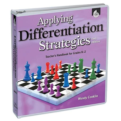 Shell Education Applying Differentiation Strategies Resource Book, Grade K - 2