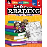 Shell Education Practice, Assess, Diagnose 180 Days of Reading Book, Grade 1