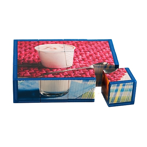 "Stages Learning Materials® 1 1/2"" Dairy Cube Puzzle"