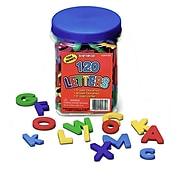 "Lauri 1 3/4"" Letters Foam Magnets, Assorted Colors (SME5330)"