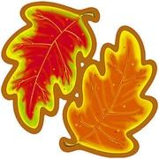 """Trend Enterprises® 5 1/2"""" Classic Accents, Autumn Leaves"""