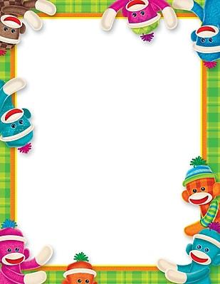 Trend Enterprises® Sock Monkeys Terrific Paper