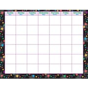 Trend Enterprises® Stargazer Wipe Off® Monthly Calendar, Blank/Stars