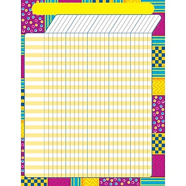 Trend Enterprises® Snazzy Large Incentive Chart, 17