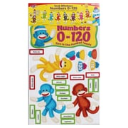 Trend Enterprises® Bulletin Board Set, Sock Monkeys Numbers 0-120