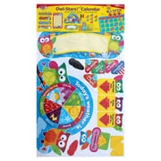 Trend Owl-Stars Calendar Bulletin Board Set, 33 Numbers, Assorted