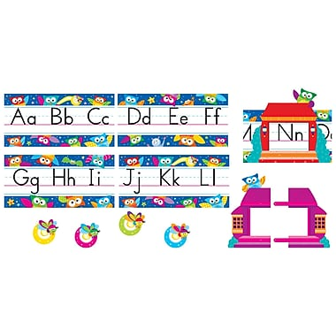 Trend Enterprises® Bulletin Board Set, Owl Stars® Alphabet