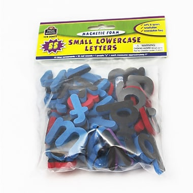 Teacher Created Resources Magnetic Foam: Small Lowercase Letters, PreK - 3, 69/Pack (TCR20623)