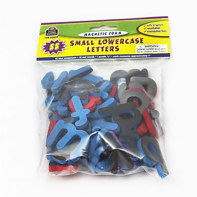 Teacher Created Resources Magnetic Foam Small Lowercase Letters, PreK - 3