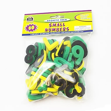Teacher Created Resources Magnetic Foam: Small Numbers, Grades Preschool And Up