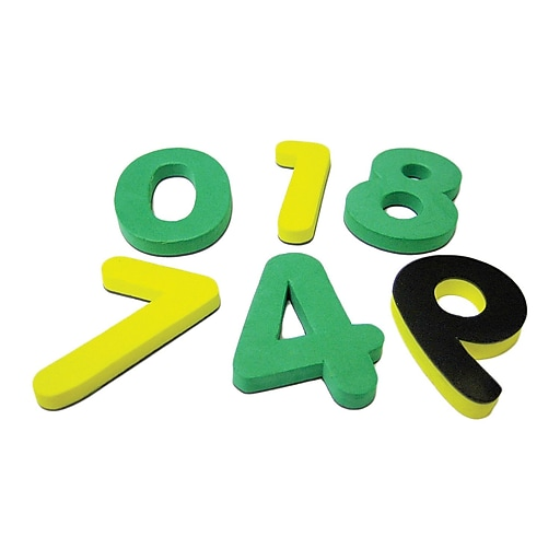Teacher Created Resources Magnetic Foam Numbers, Grades Preschool And Up