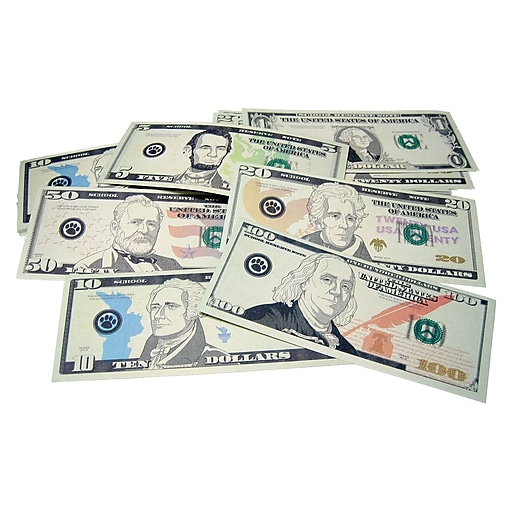 Teacher Created Resources Play Money: Assorted Bills, Grades K And Up, 110/Pack