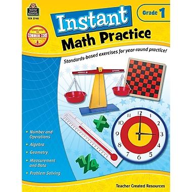 Teacher Created Resources Instant Math Practice Book, Grade 1