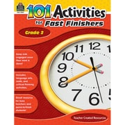 Teacher Created Resources 101 Activities For Fast Finishers Activity Book, Grade 2