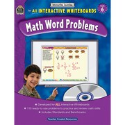 Teacher Created Resources Interactive Learning: Math Word Problems Book (TCR3873)