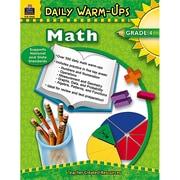 Teacher Created Resources Daily Warm-Ups: Math Resource Book, Grades 4