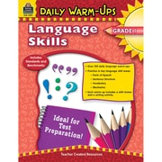 Teacher Created Resources Daily Warm-Ups: Language Skills Book, Grades 1